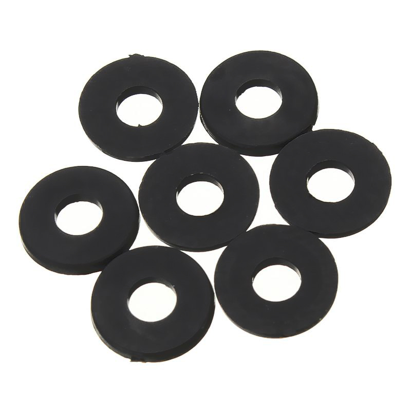 Nylon Flat washers for M2.5 Screw Bolt 5 mm OD 1 mm Thick 200 Pieces