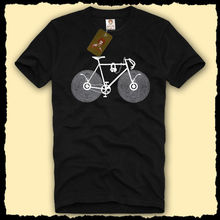 Vinyl Record Bicycle Wheels Men's T-shirt