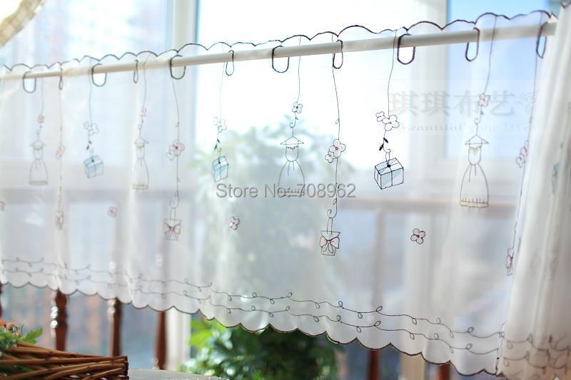 Aliexpress.com : Buy Girl Gift Fresh Small Kitchen Curtain