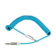Woweinew 2016 new arrival 3.5mm Stereo Male To Male AUX Retractable Stretched Audio Cable