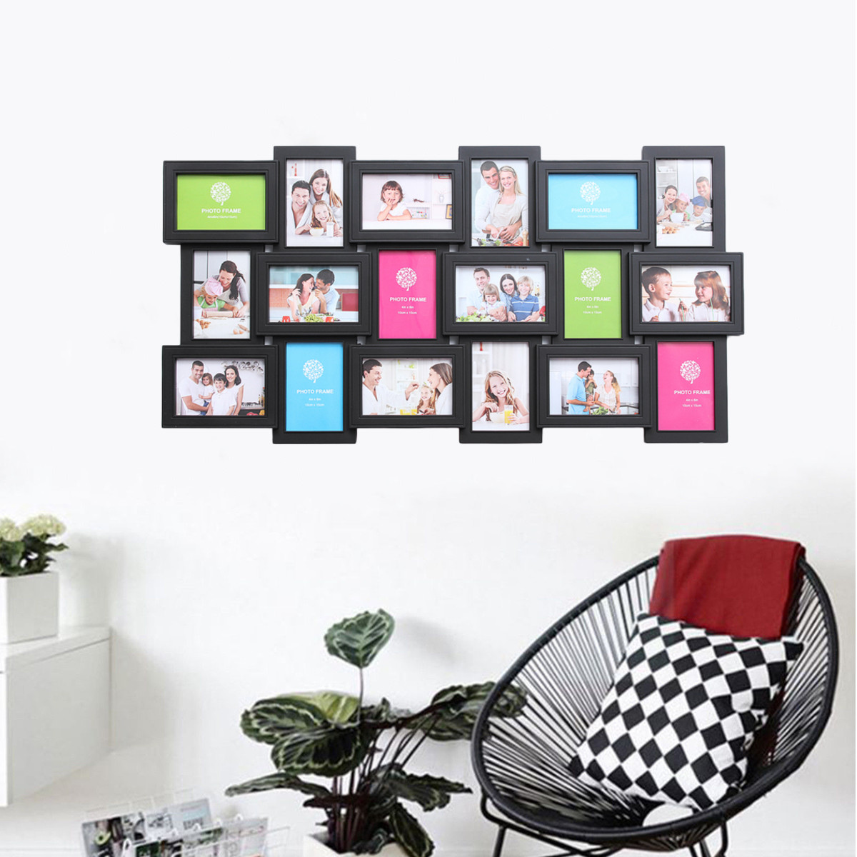 Bilder Collage Wand 18 Fotos Rahmen Wand Dekoration Multi Bilder Rahmen Collage Blende Diy Home Decor Für Wohnzimmer
