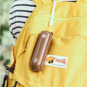 Multifunzione 3 In 1 Ventilatore USB Portatile Portatile Pieghevole 2 Velocità Del Vento Scrivania Ventilatore 2000mAh Accumulatori E Caricabatterie Di Riserva Torcia Elettrica Per Il Campeggio Di Viaggio