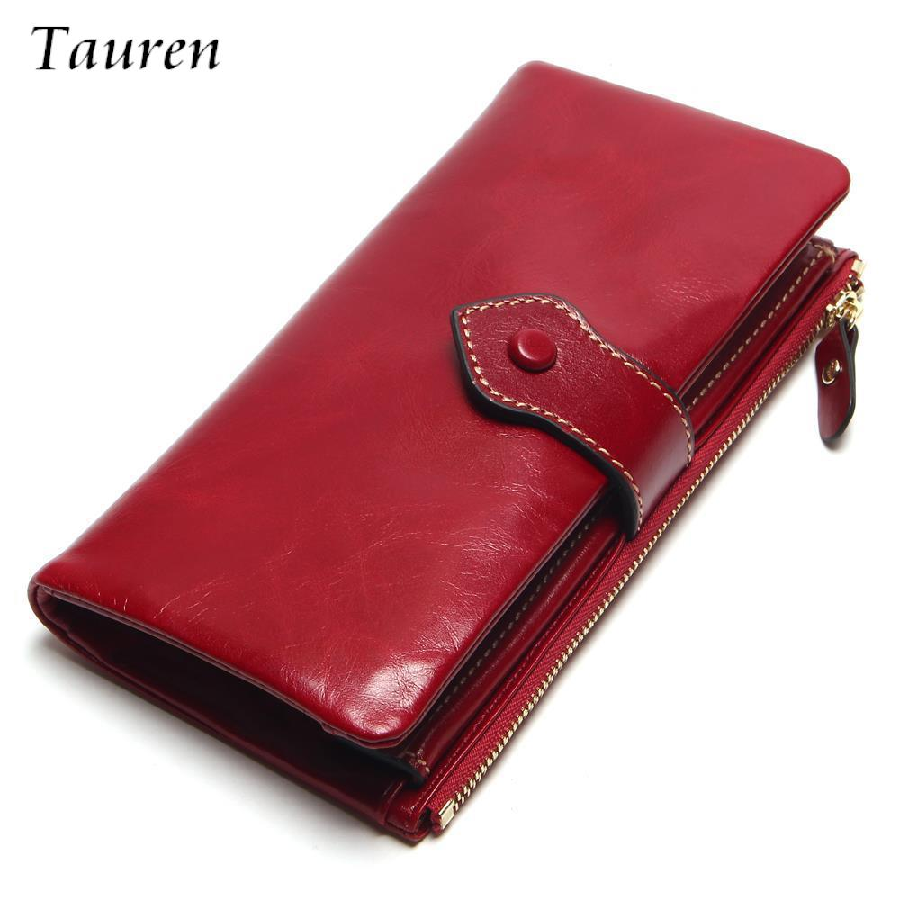 Female Fashion Leather Women Wallet European And American Style Genuine Leather Wallet Brand Long Lady Purse Cow Leather Wallets teemzone top european and american fashion evening bag ladies genuine leather long style hasp note compartment wallet j25