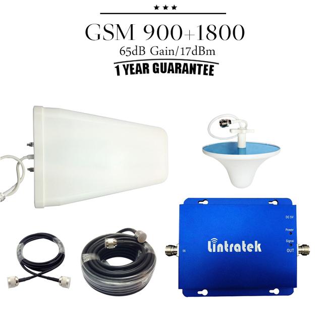 GSM 900 mhz 1800 mhz de Doble Banda Móvil Señal de Refuerzo Repetidor GSM 900 DCS 1800 Teléfono Celular amplificador Repetidor De Celular