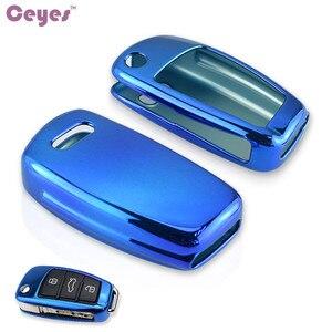 Image 5 - Ceeyes funda protectora de TPU suave para coche, carcasa protectora para Audi S8, A6, A6L, Q5, S5, S7, A4, A4L, A5