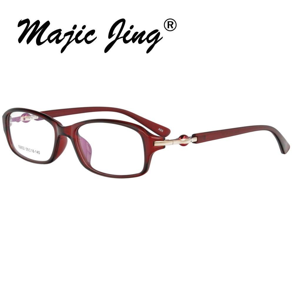 TR90 оптический Стекло es рамка Для мужчин Для женщин полный обод близорукость глаз, стекло рецепта Стекло es очки 55502 - Цвет оправы: A05