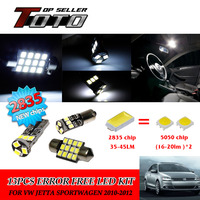 14x LED Car Auto Interior Canbus Dome Map Reading Light White 2835 Chips Kit For VW