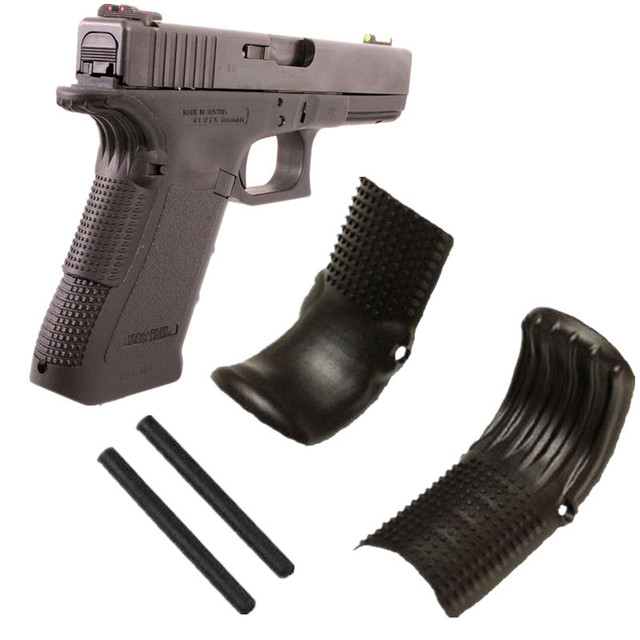 1 Pairs Polymer Grip Force Adapter BeaverTail Gen 1 2 3 For Glock 17 ...