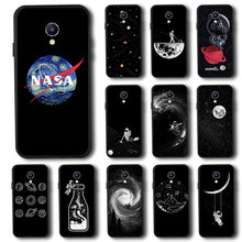 Black Silicone Phone Case Cover For Meizu Meilan Note 9 Case Cover For Meizu M15 M8 V8 M8 Lite M5 M3 Note Meilan 5s Bumper Bags(China)