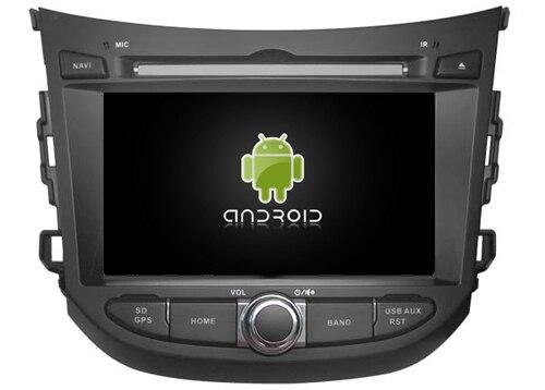 Navirider lecteur dvd de voiture multimédia autoradio android 8.1 wifi gps écran de navigation pour Hyundai HB20 2012-2018 headunit stéréo