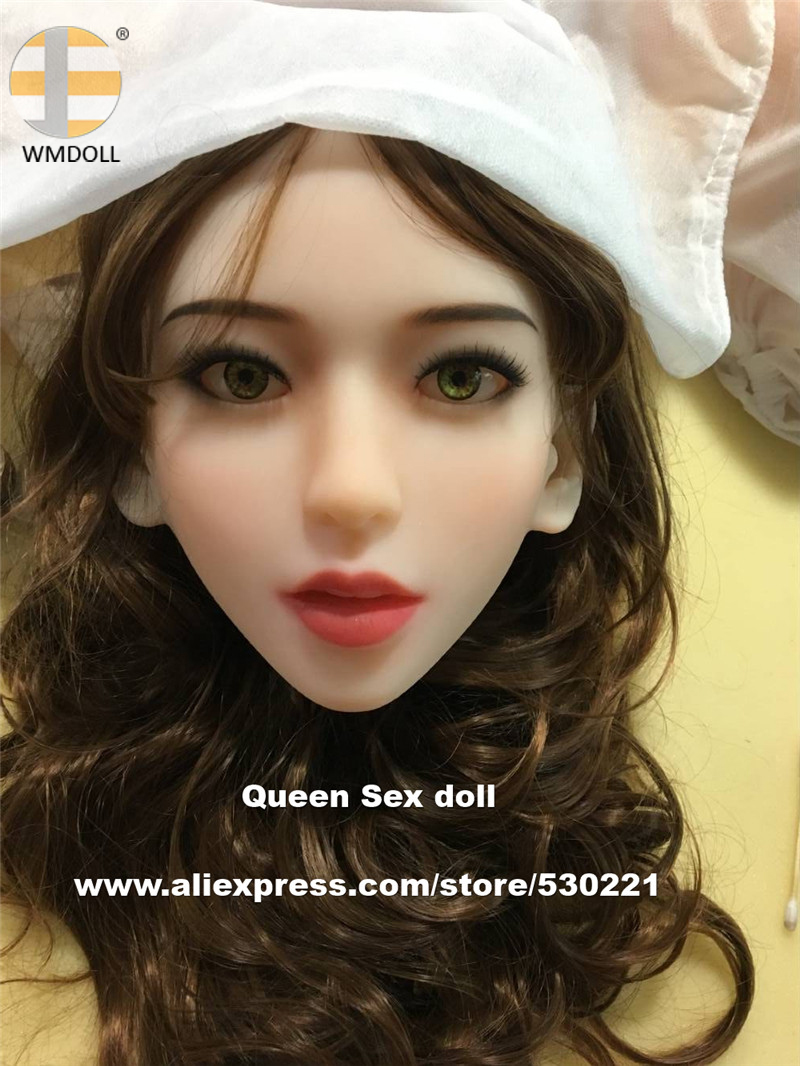 WMDOLL Top quality love doll heads for sexy doll silicone japanese sex dolls full body sex toysWMDOLL Top quality love doll heads for sexy doll silicone japanese sex dolls full body sex toys