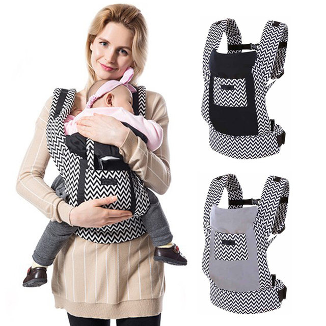 Organic Cotton Ergonomic Baby Carrier Backpacks Canguru Baby