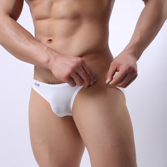 Wade Sea New Man's Brand mens Swimming shorts Hang buckle Swim Trunks Sexy Low Waist Swimming Briefs Swimwear Boxers swimsuit