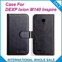 6 Цвета Hot! 2016 DEXP Ixion M140 Вдохновлять Чехол, Высокое Качество Кожи Эксклюзивный Чехол Для DEXP Ixion M140 Inspire Крышка Отслеживания