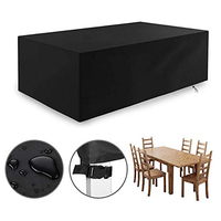 Garden Furniture Cover Garden Table Cover Patio Furniture Covers Waterproof Windproof and Anti UV 420D Heavy Duty Oxford