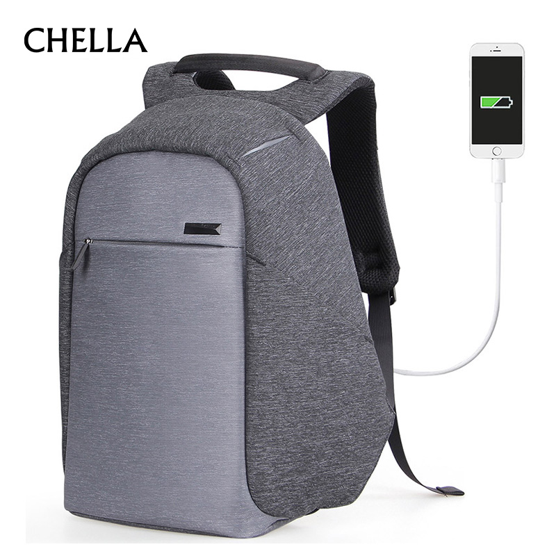 Men Anti-Theft Backpack Women USB Charge Functional Travel Backpacks Fashion School Bag Teenagers Business Laptop Mochila BP0166 dtbg backpack for men women 15 6 inch notebook laptop bags anti theft men s backpacks travel school back pack bag for teenagers