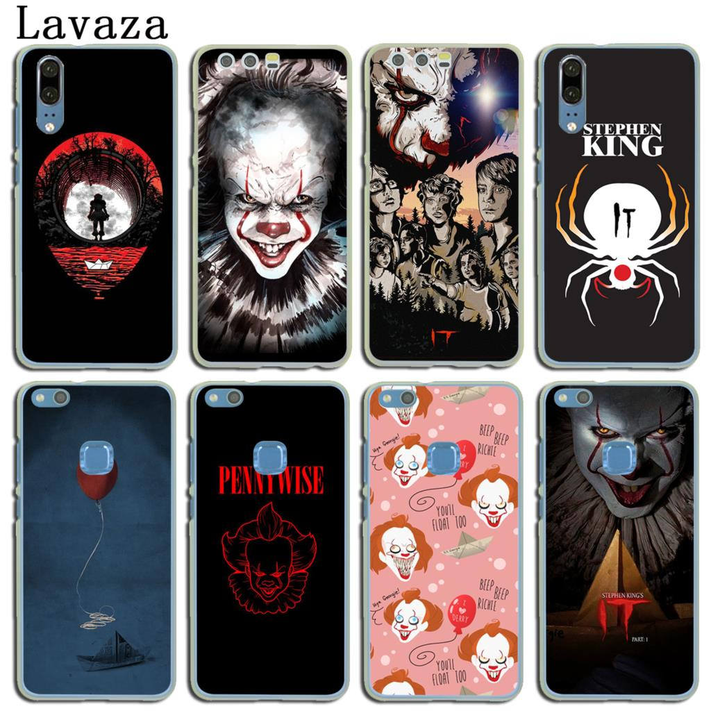 Lavaza Stephen Kings It Hard Cover Case for Huawei P20 P10 P9 Plus P8 Lite Mini 2015 2016 2017 P Smart Mate 9 10 Lite Pro Case