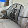 Universal Car Back Seat Mesh Lumbar Back Brace Support Cool Summer Car Seat Office Home High Quality Back Seat Cushion