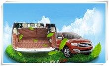 6 стиль! Автомобиль задний багажник Коврики для ford Everest внедорожник 4 двери 2015 2016 2017 стайлинга автомобилей аксессуары загрузки колодки