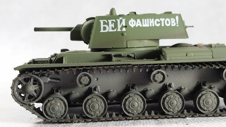 1:72  Soviet KV-1 Heavy Tank Model 1941 In World War II  Trumpeter Simulation Model 36276  Collection Model