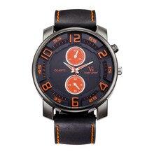 2017 Mens Relojes de Primeras Marcas de Lujo de Cuarzo Reloj de Cuero Ocasional de Los Hombres Delgado Deportes reloj de Pulsera de Hombre Reloj Relogio masculino