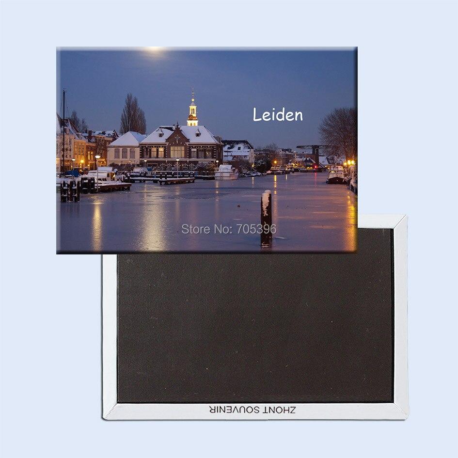 Leiden Netherlands Fridge Magnets 20789;Tourist Refrigerator Magnets 78*54mm