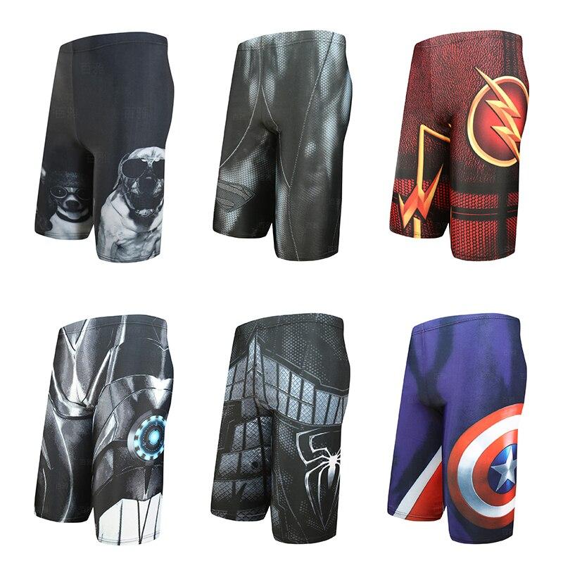 Hot Sale Swimming Trunks Men's Long Racing Swimming Swim Trunks Sport Shorts Classic Men Swimwear Beach Wear Briefs