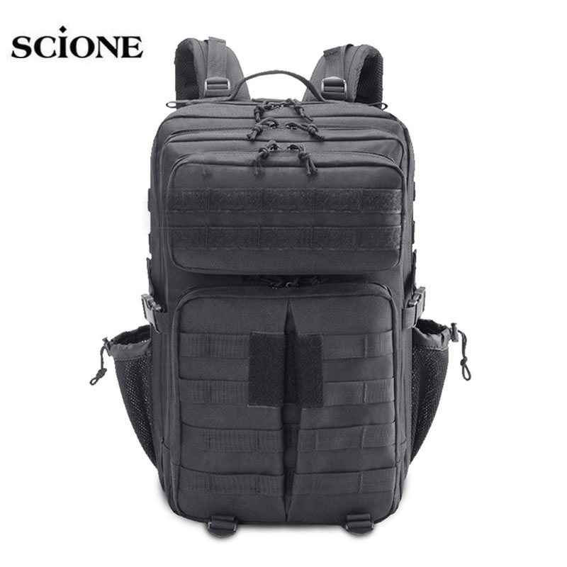40 45L Military Molle Bag Camping Backpack Tactical Backpacks Hiking Rucksack Travel Outdoor Sports Army mochila tactica XA676WA outdoor military molle tactical backpack 40l pouch bag for sports travel rucksack mochila camping hiking backpacks bags