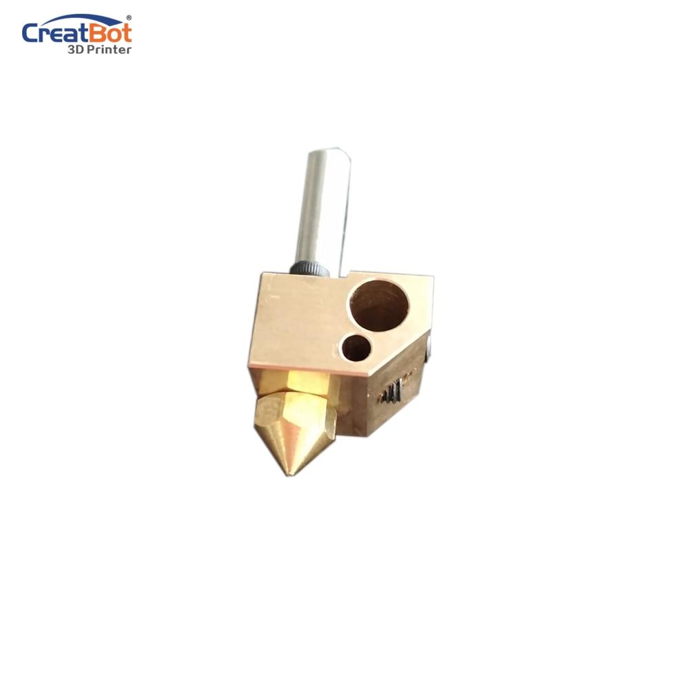 2pcs CreatBot 420 degrees extruder high temperature for F430 F160 3D Printer Original 3D printer parts цена