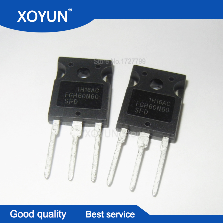 50pcs/lot FGH60N60SFD FGH60N60 TO247 Free shipping-in Integrated Circuits from Electronic Components & Supplies