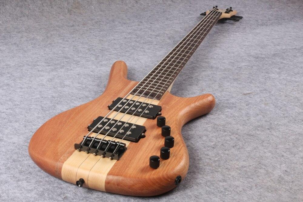 Nouvelle guitare basse électrique 5 cordes W-1469 EMS livraison gratuite