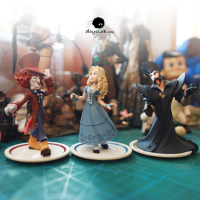 PVC figureAlice Mad Hatter 3pcs/set