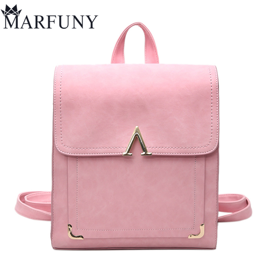 Fashion Letter Women Backpack Schoolbags High Quality Pu Leather Backpack Hot Sale Travel Backpack 2017 Sequined Women Back <font><b>Pack</b></font>