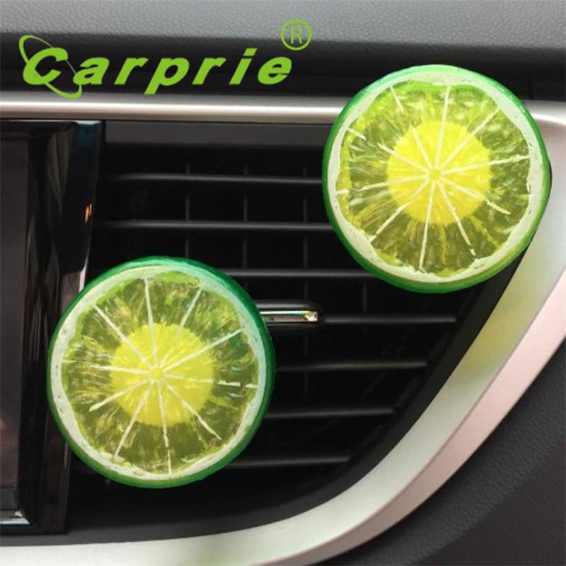 Автомобиль Главная лимонный обновления воздуха на выходе Ароматные Духи клип освежитель воздуха Diffuser_KXL0712