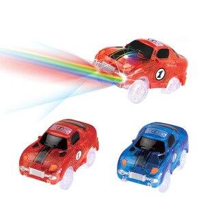Image 4 - Büyülü parça LED ışık elektronik araba parça oyuncak parçaları 5 renkli ışıklar çocuk oyuncakları bulmaca oyuncak araba doğum günü hediyeleri