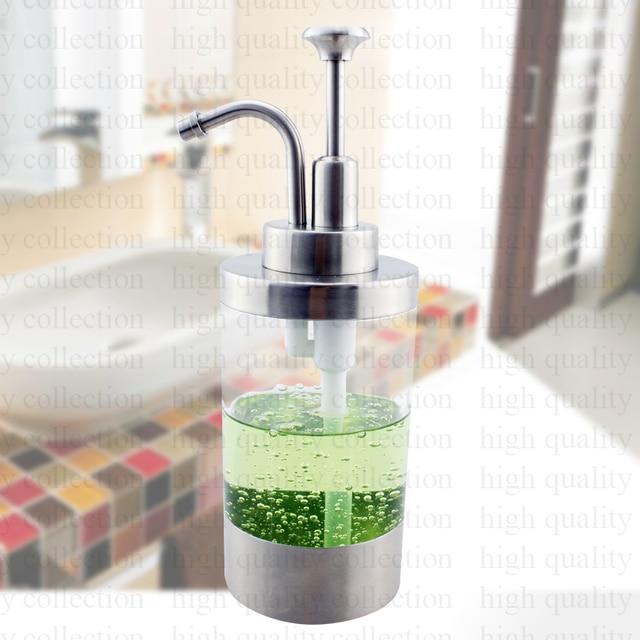 304 Edelstahl Satiniert Seifenflussigkeit Lotion Dispenser