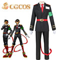 Cgcos express! Anime Cosplay Costume Nanbaka Detentionhouse Samon Goku Cos Uniformes Del Juego Por Encargo de Halloween Navidad