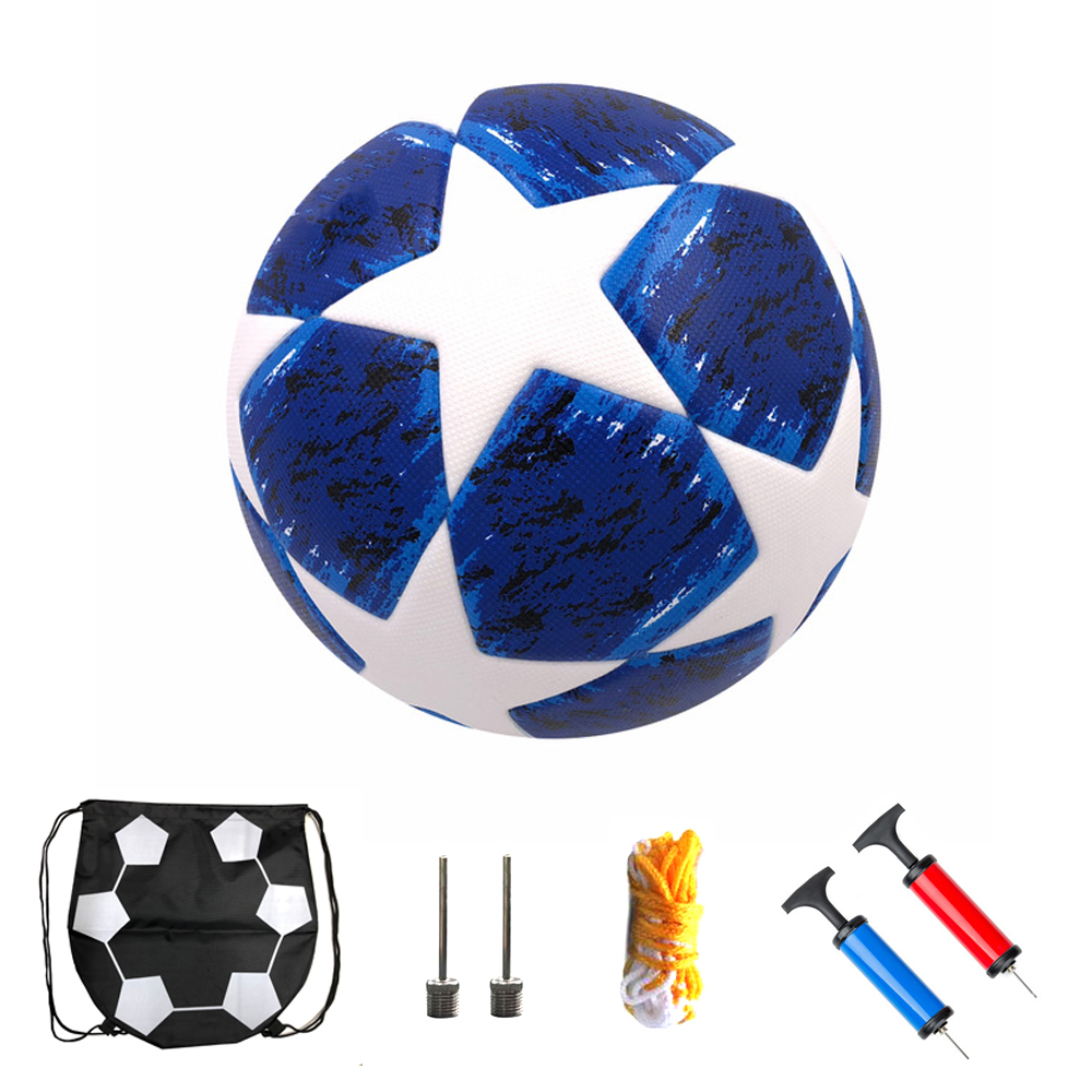 2019 New Match Soccer Ball Official Size 5 For Champions League Football PU Team Sports Training Football Ball Voetbal Futbol