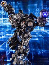 Transformação Mamba Negra sobre o tamanho do metal parte MPM06 ls09 ls 09 Ironhide figura de brinquedo