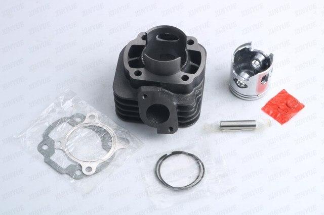 Йамах JOG 70cc 2 Инсульта Комплект Большой Диаметр Цилиндра 47 мм/10 мм Блок Цилиндров поршневых колец