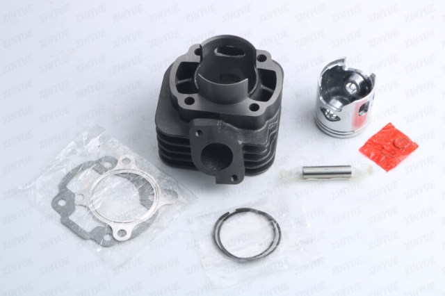 Yamah JOG 70cc 2 Stroke Big Bore Cylinder Kit 47mm/10mm Cylinder Block piston rings