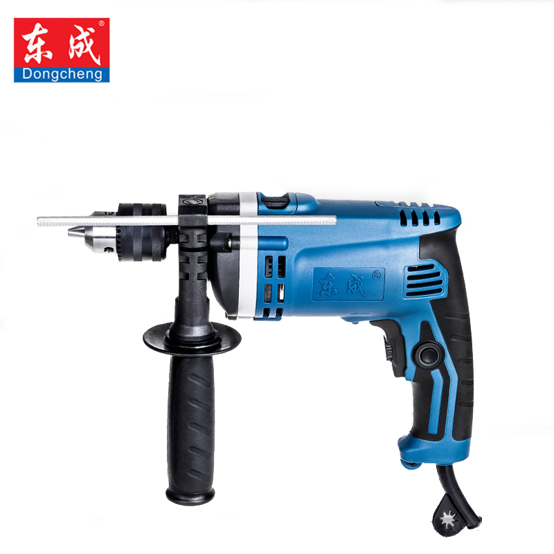 Dongcheng 220V 3000rpm Speed Adjustable 13mm AC Impact Drill Electric Hammer Electric Drill Power Drill Woodworking Power цена