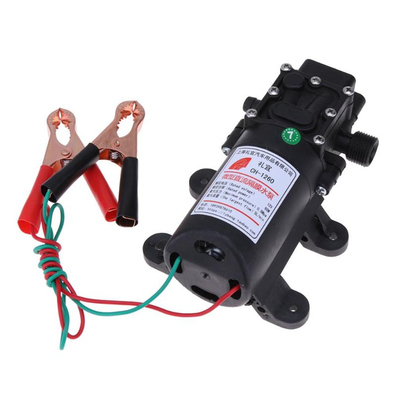 DC 12V 60W Fluid Extractor Motor Oil Diesel Transfer Pump Methanol Oil Diesel Fuel Pump For Car Motorbike