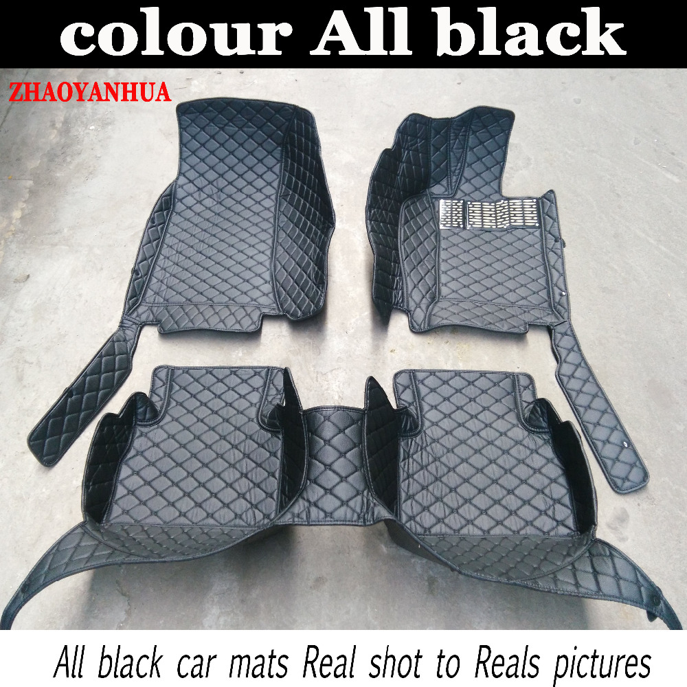 ZHAOYANHUA car floor mats fit right hand drive for Jupuar XF XJ6 XJ6L XJL carpet floor liner защита от солнца для автомобиля guozhang 300c xjl xf