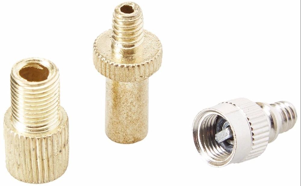 Presta schrader woods valve adaptateur convertisseur route vélo cycle pompe tube