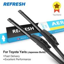 REFRESH Щетки стеклоочистителя для Toyota Yaris Японские Построенные подходящие модели оружия с 1999 по 2011 год