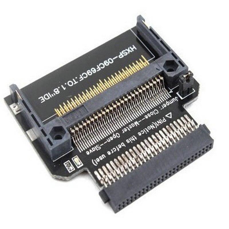 Grand-Q Nouveau Compact Flash CF à 1.8 IDE 50 Broches Convertisseur Adaptateur Disque Dur riser carte adaptateur