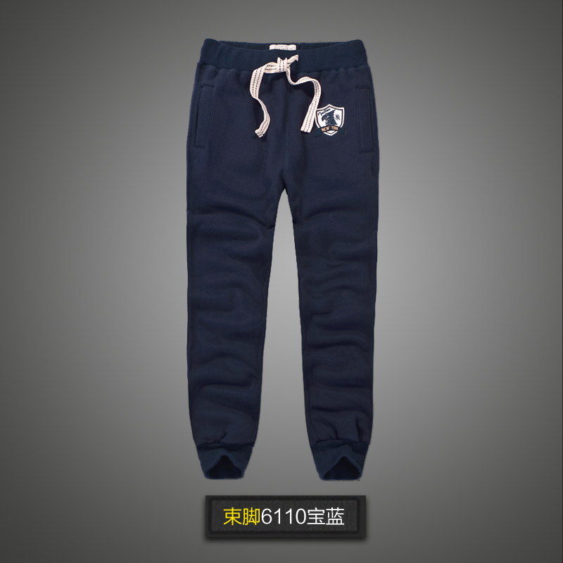 Spring autumn men sweatpants jogger fleece cotton big size straight pencil hollistic casual pants streetwear joggers modis(China)