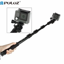 PULUZ PU54B Action Camera Accessories Camera Selfie Stick Compatible For Smartphone For GoPro