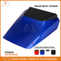 Rear Seat Cover Fairing Cowl Protector For Yamaha YZF R6 600 YZFR6 YZF-R6 YZF600 1998 1999 2000 2001 2002 Motorcycle 600 YZF600
